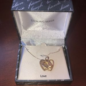 Jewelry - 'Love necklace' sterling silver